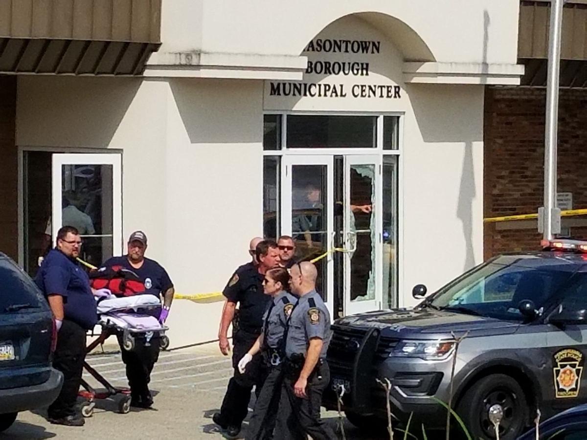 Masontown shooting