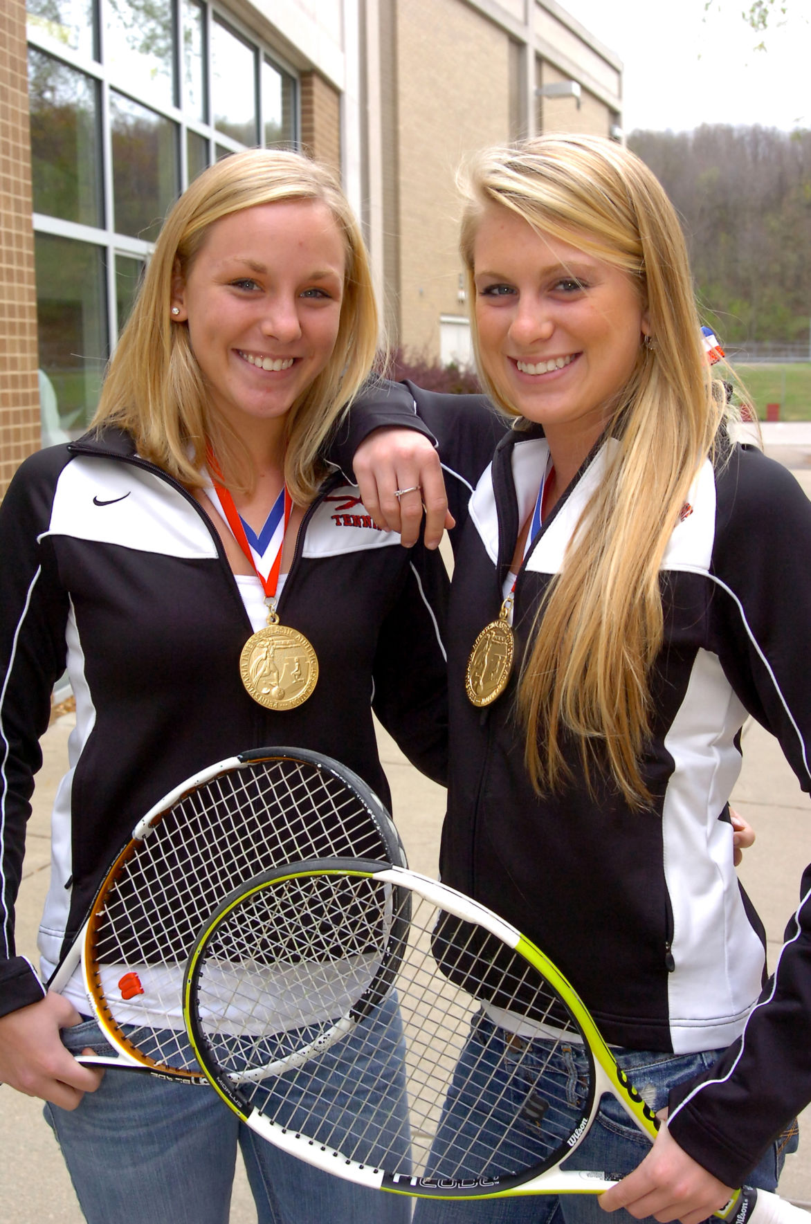 PETERS TOWNSHIP TENNIS ATHLETES OF THE WEEK