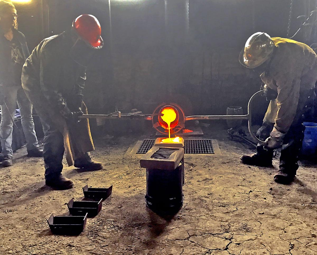 Hammer-In Pour