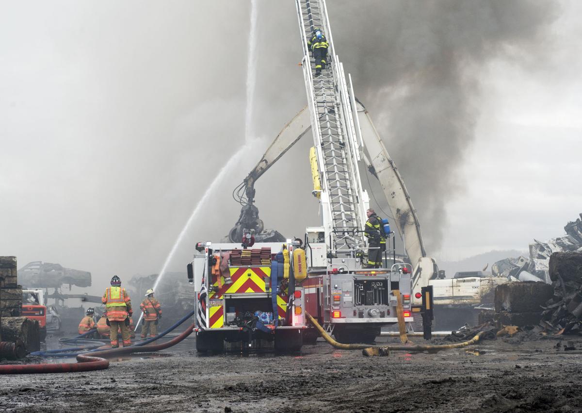 Scrapyard fire two