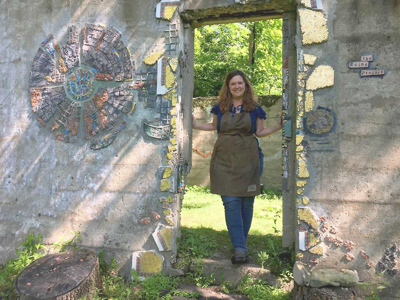 Rachel Sager and The Ruins Project