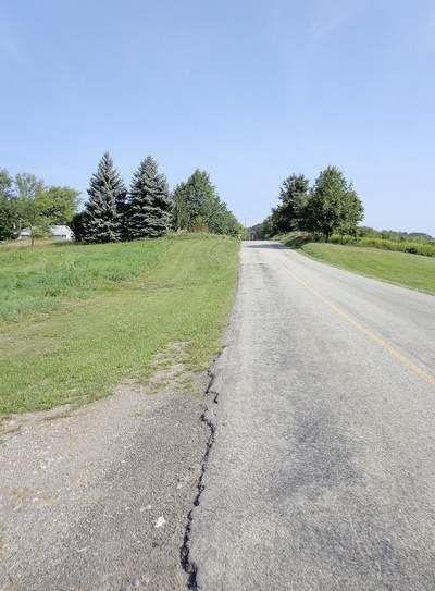 Mounts Road in Buffalo Township