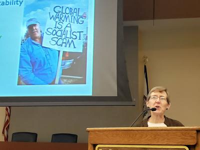 Professor: West Virginia faces challenges from climate change