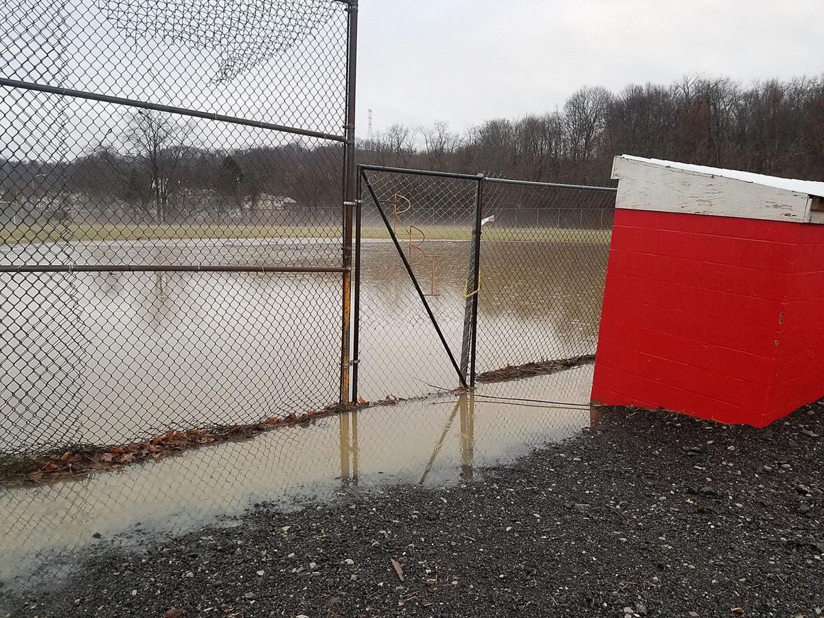 Flooding at East End Park 1