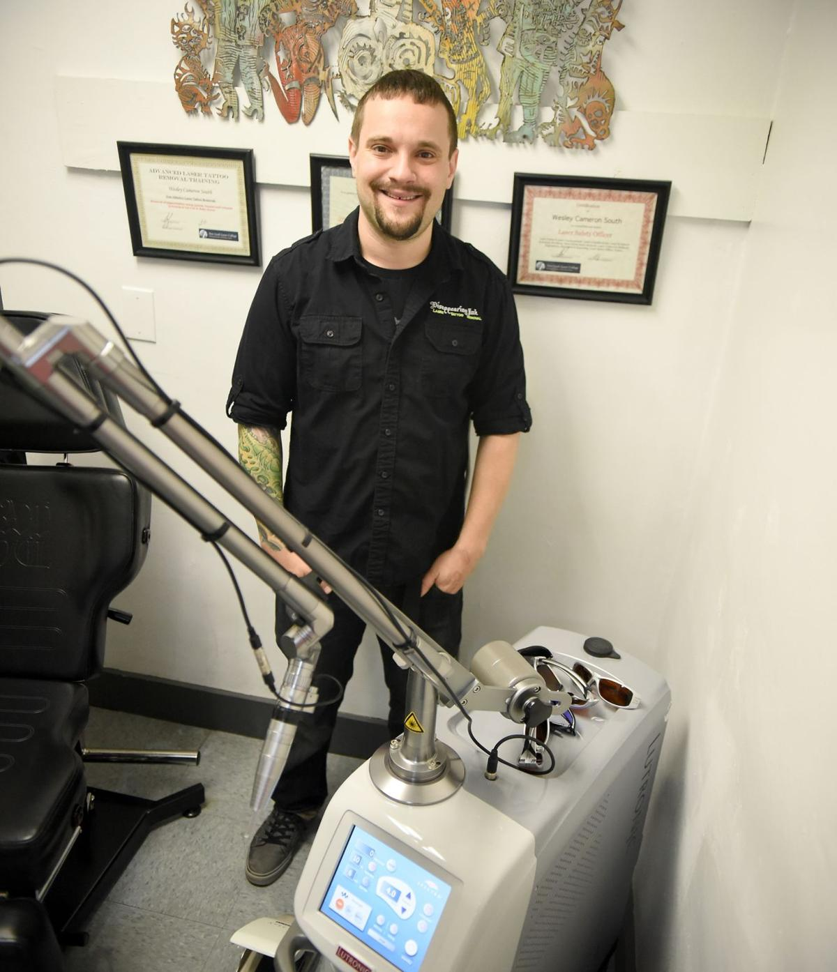 Vanishing ink Removing unwanted tattoos is a growth industry
