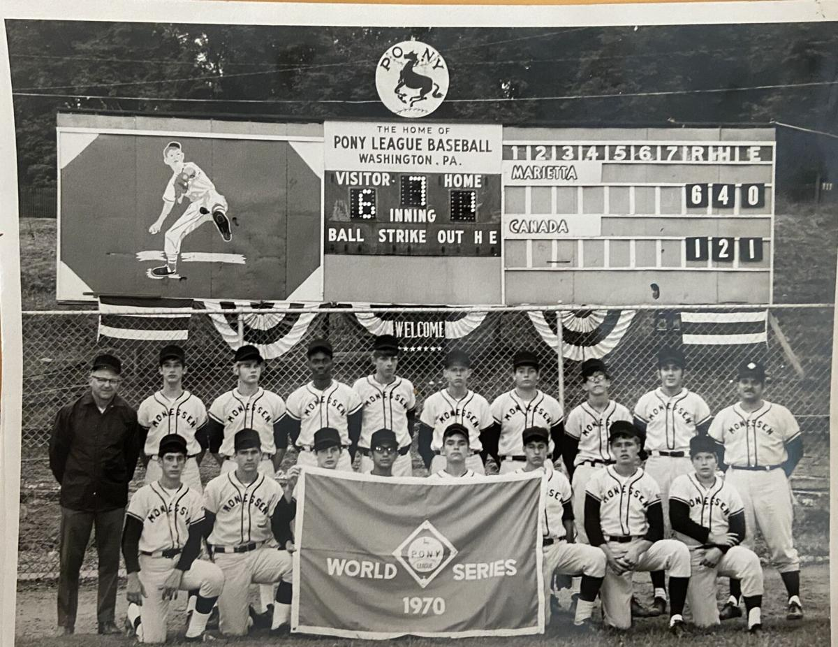 1970 Monessen Pony League World Series team
