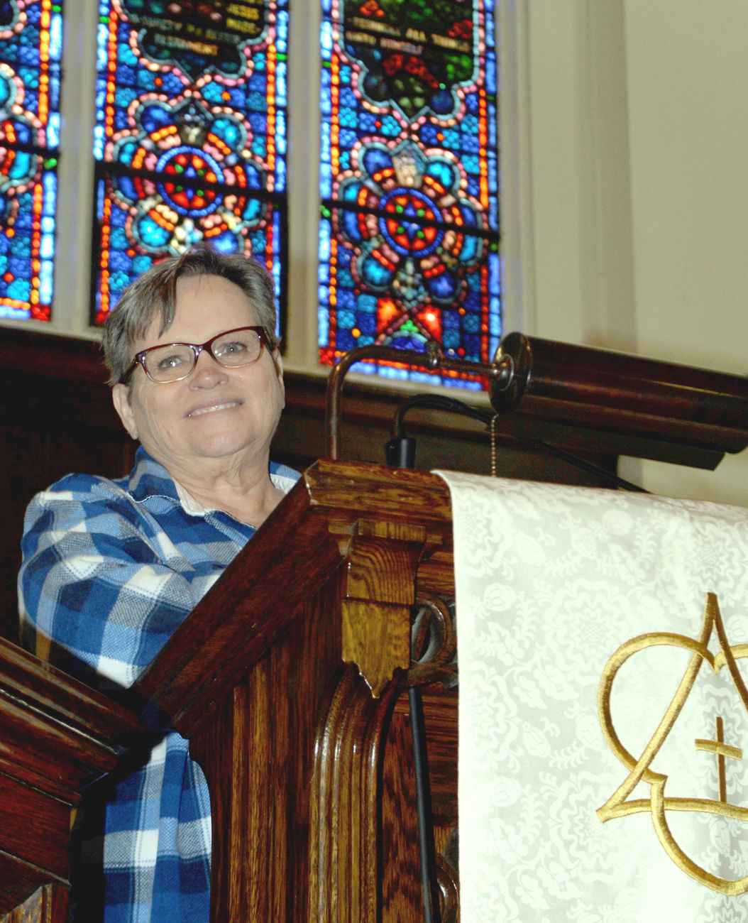 The Rev. Bev Roscoe