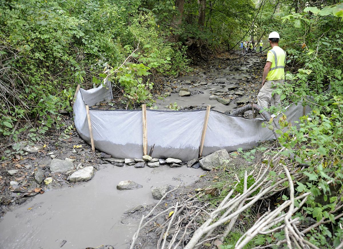 Sunoco cited by DEP for Little Mingo Creek discharge