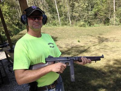 Machine gun range rattles neighbors