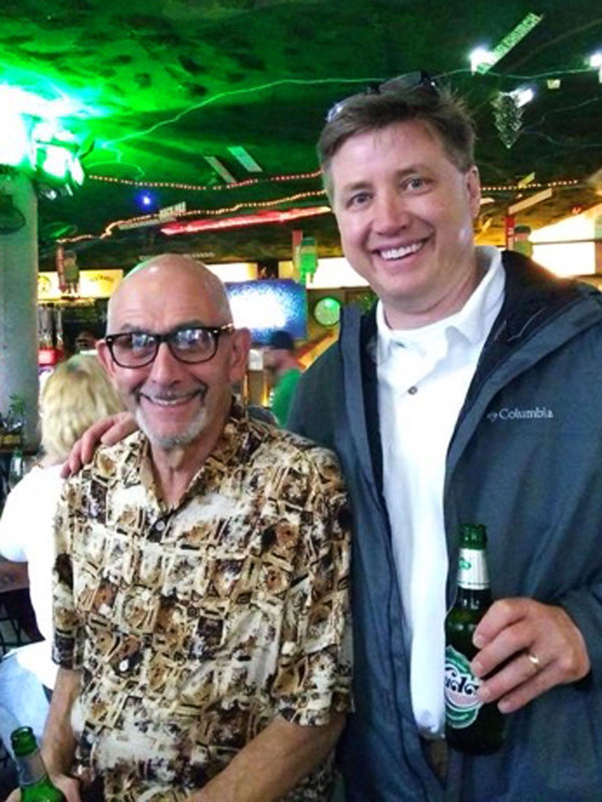 Ray Amelio and Todd DePastino
