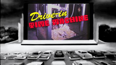 Drive-In Time Machine Logo