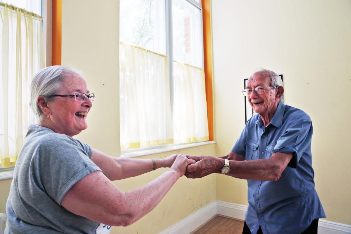 Britain Elderly Parkour