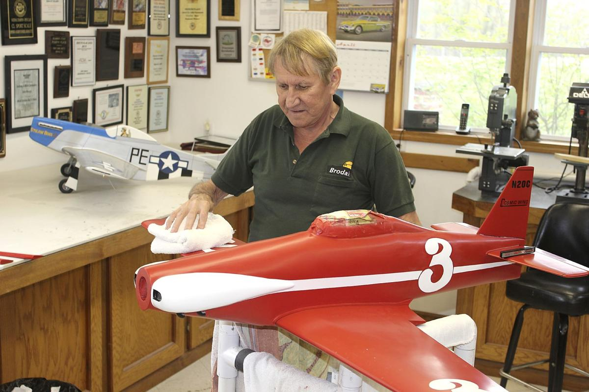 Carmichaels man is top producer of model aviation kits