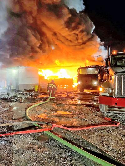 East Finley well fire