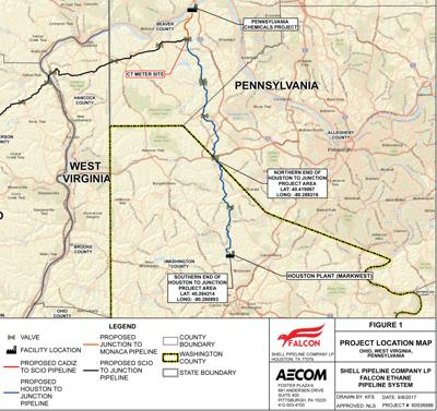 Shell pipeline map