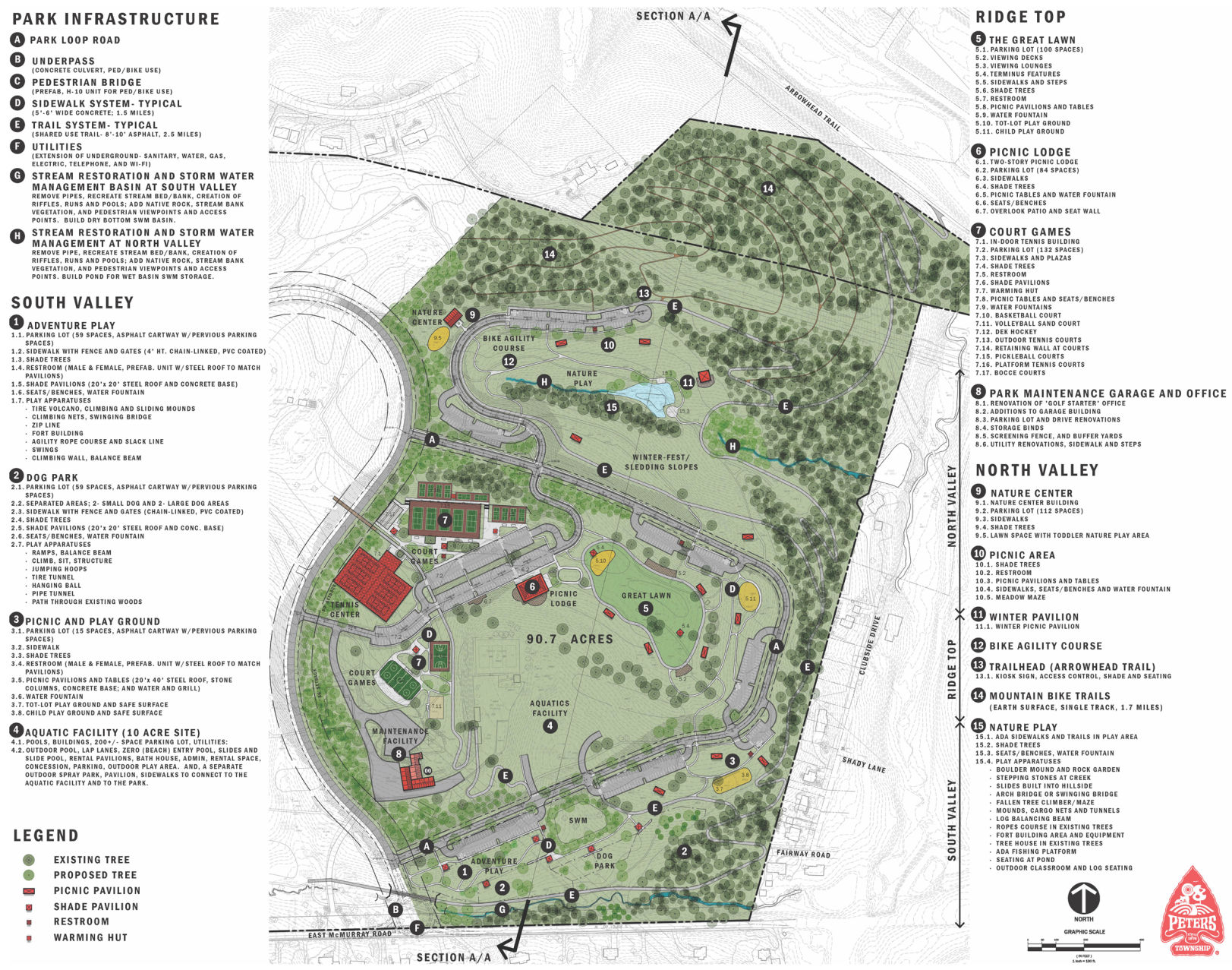 Peters Township Council addresses master plan for Rolling Hills Park