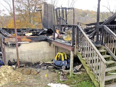 Father in Greene County house explosion 'lifted walls' to get family