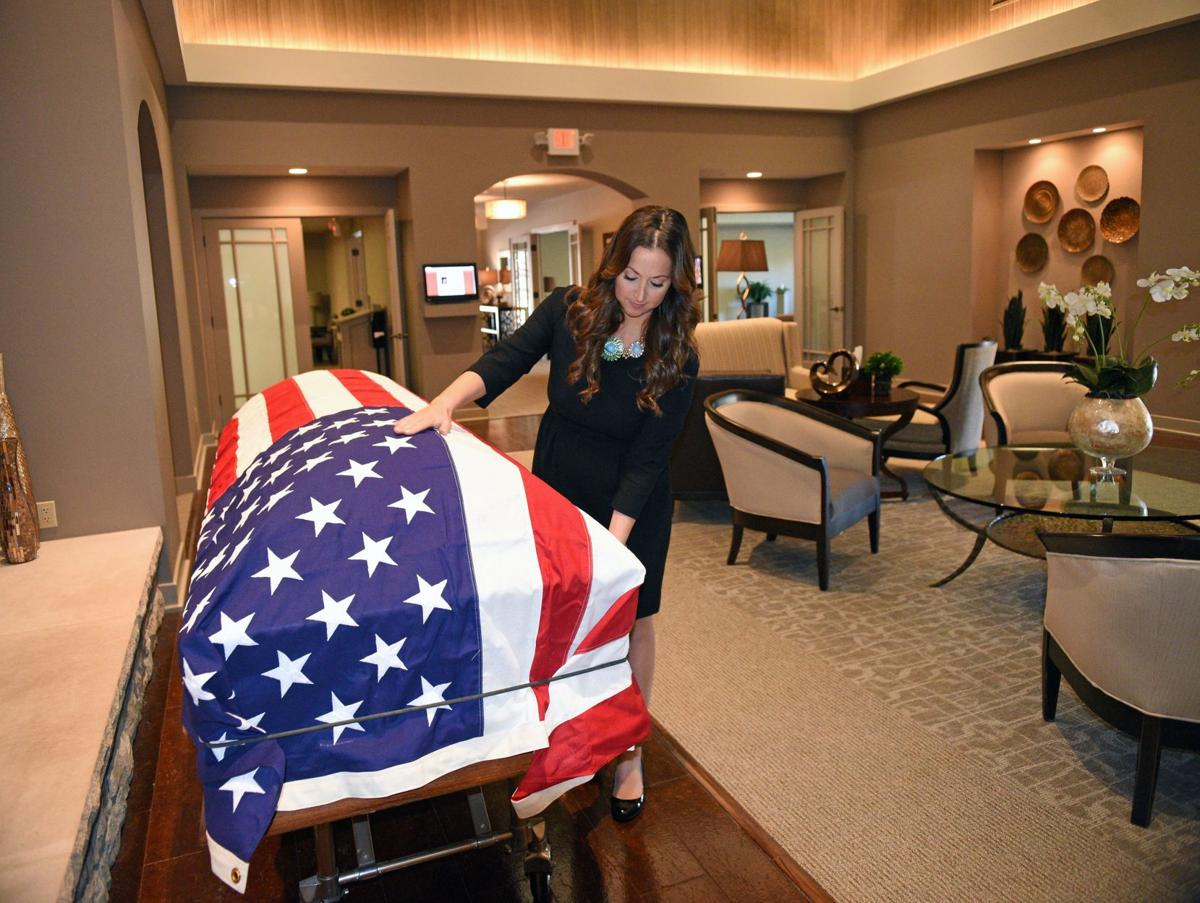 Nurturing by nature More women are becoming funeral directors