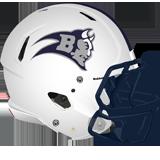 Burgettstown helmet left to right