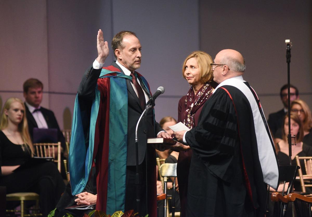 W&J inaugurates new president