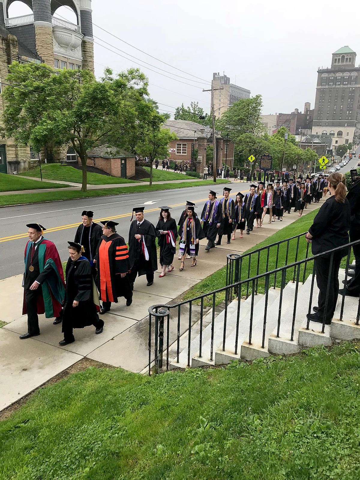 More than 300 graduate from W&J College Saturday
