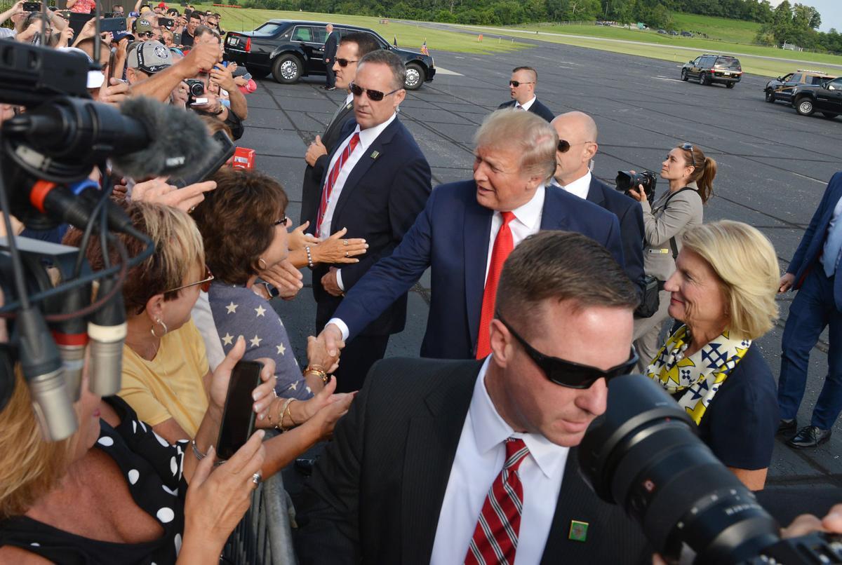 President Trump talks energy in Wheeling
