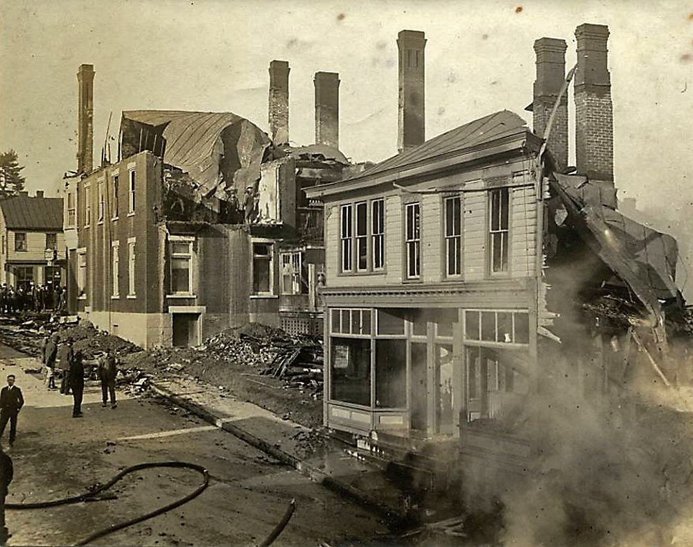 Looking Back At The Claysville Fire Of 1922
