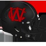 Waynesburg Central 2019 helmet