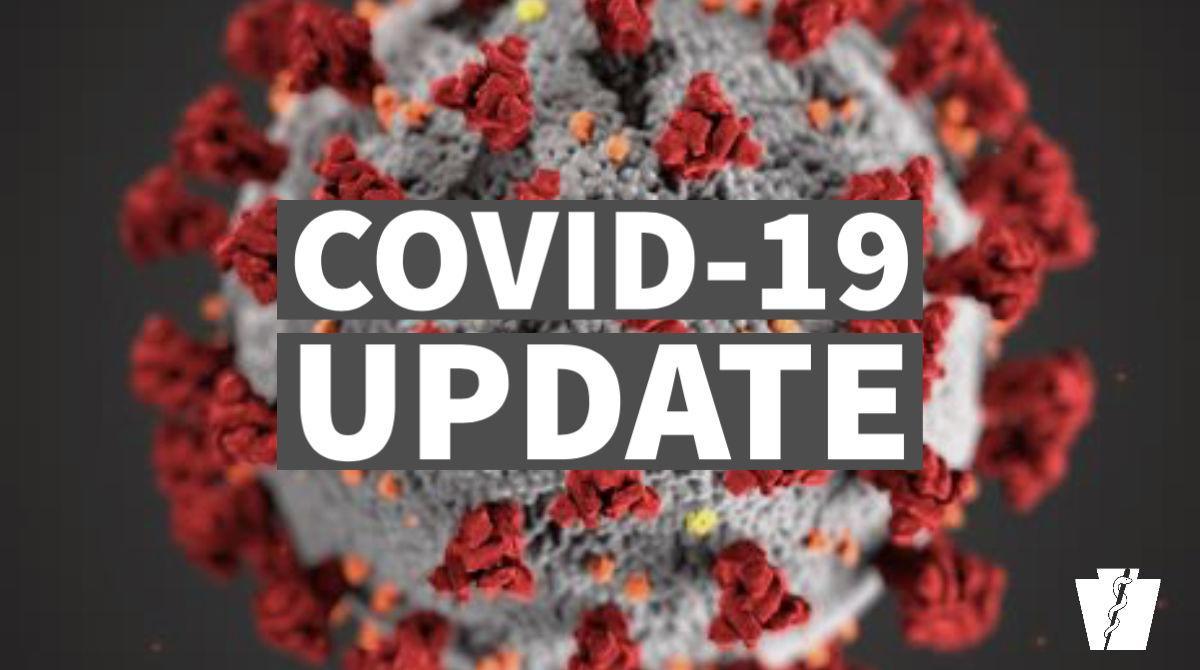 COVID-19 Update rectangle