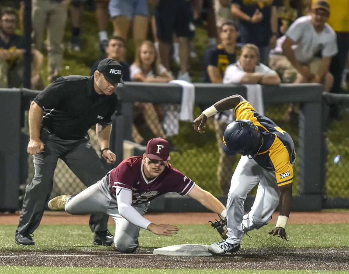 NCAA Fordham West Virginia Baseball