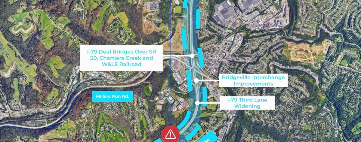 I-79 Bridgeville project