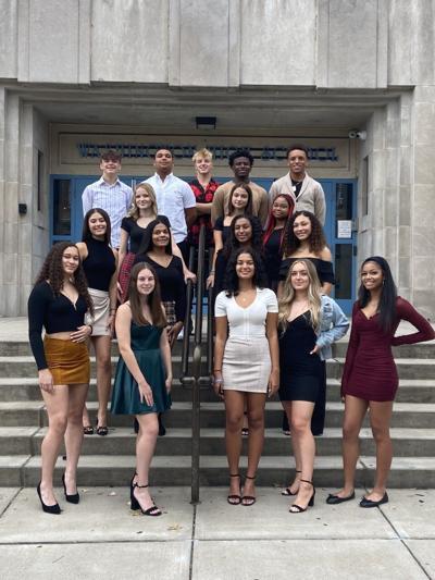 Washington High School homecoming court