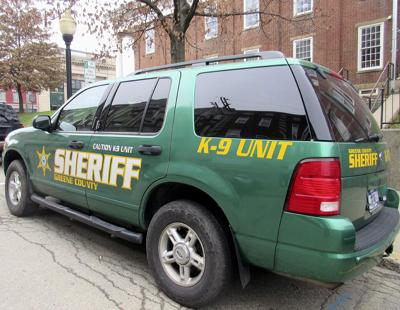 Greene sheriff releases August activity report