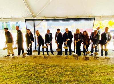 Fisher House groundbreaking