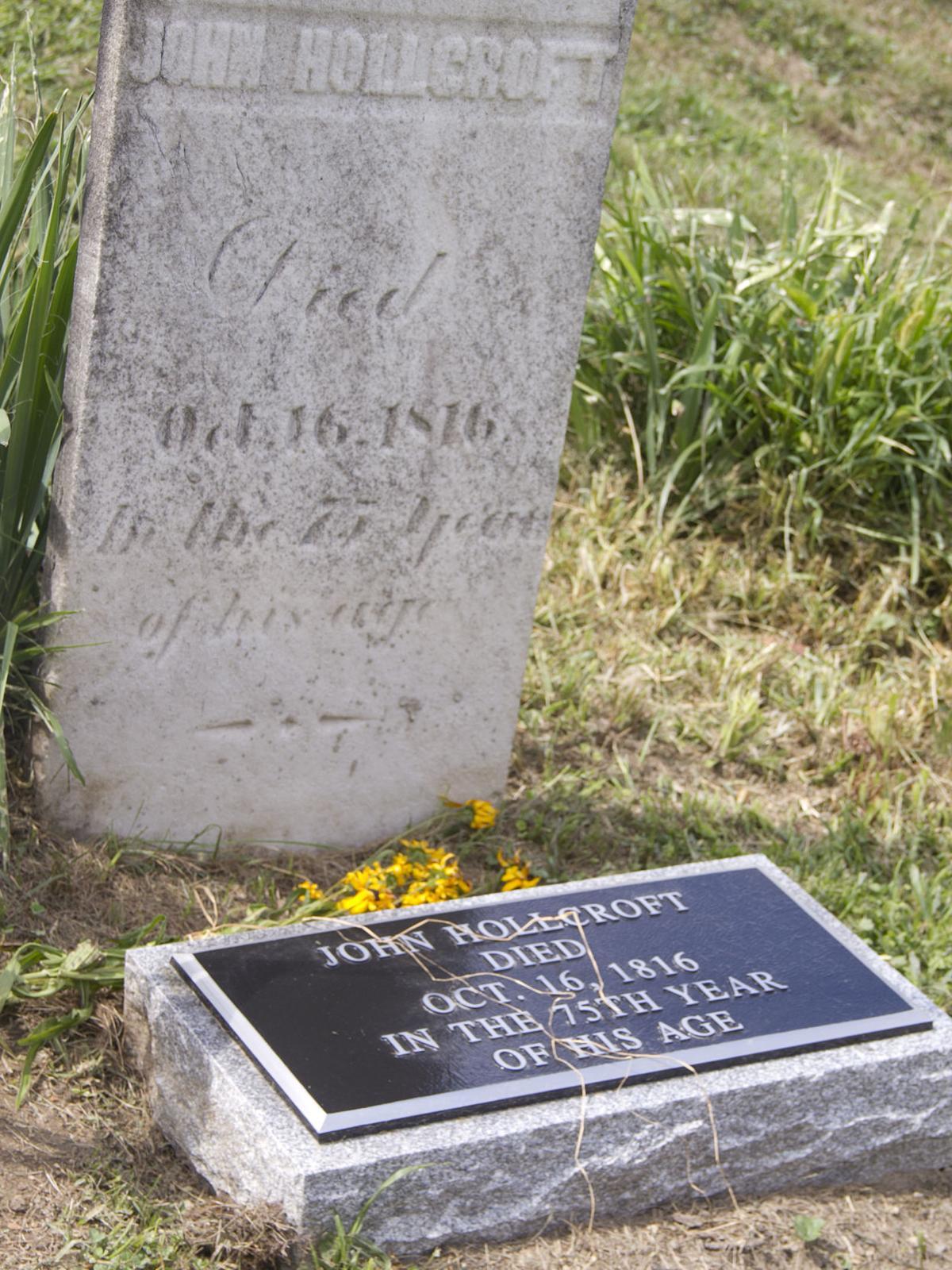 Hollcroft grave