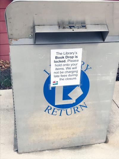 Bridgeville library drop box