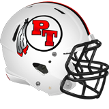 Peters Township helmet white