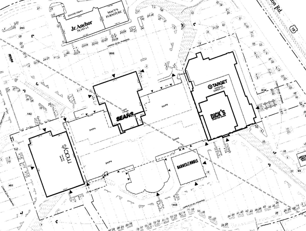 South Hills Village map