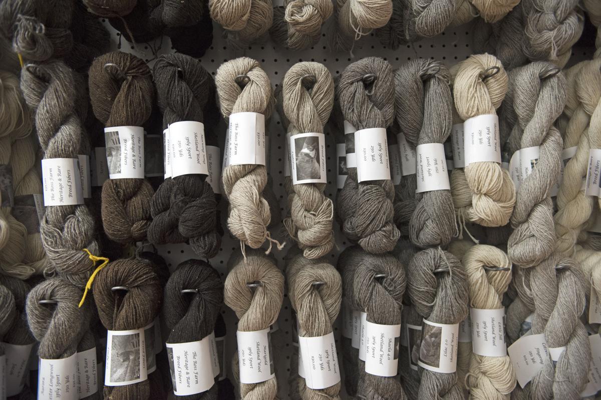 Ross Farm Fibers Mercantile wool