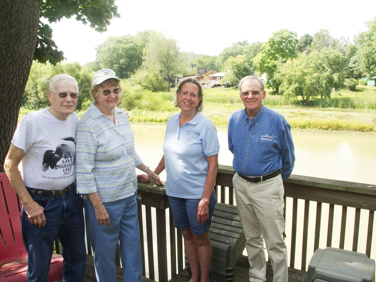 Canonsburg Lake Restoration and Improvement Association members