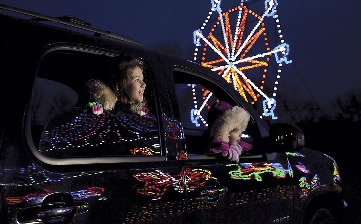 oglebay festival of lights underway community observer reportercom - Oglebay Park Christmas Lights