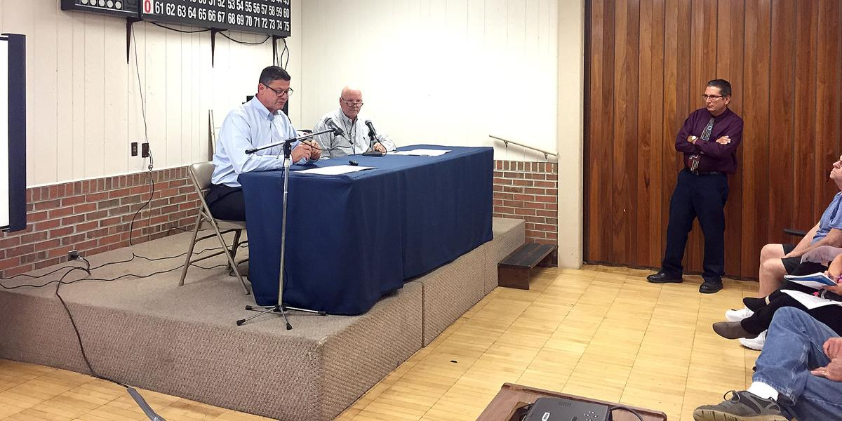 Columbia Gas executives field questions in North Franklin