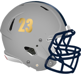 Mcguffey helmet grey