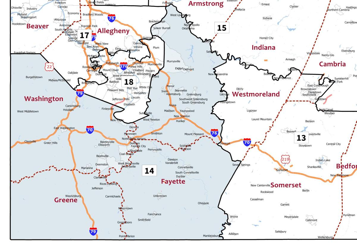 Find Out Which New Congressional District You Are In 18th