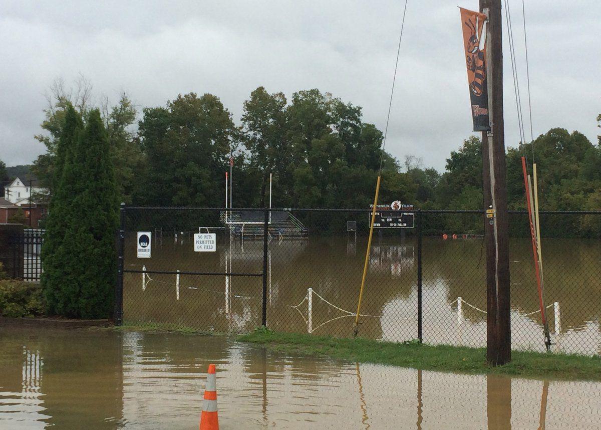 Waynesburg flood