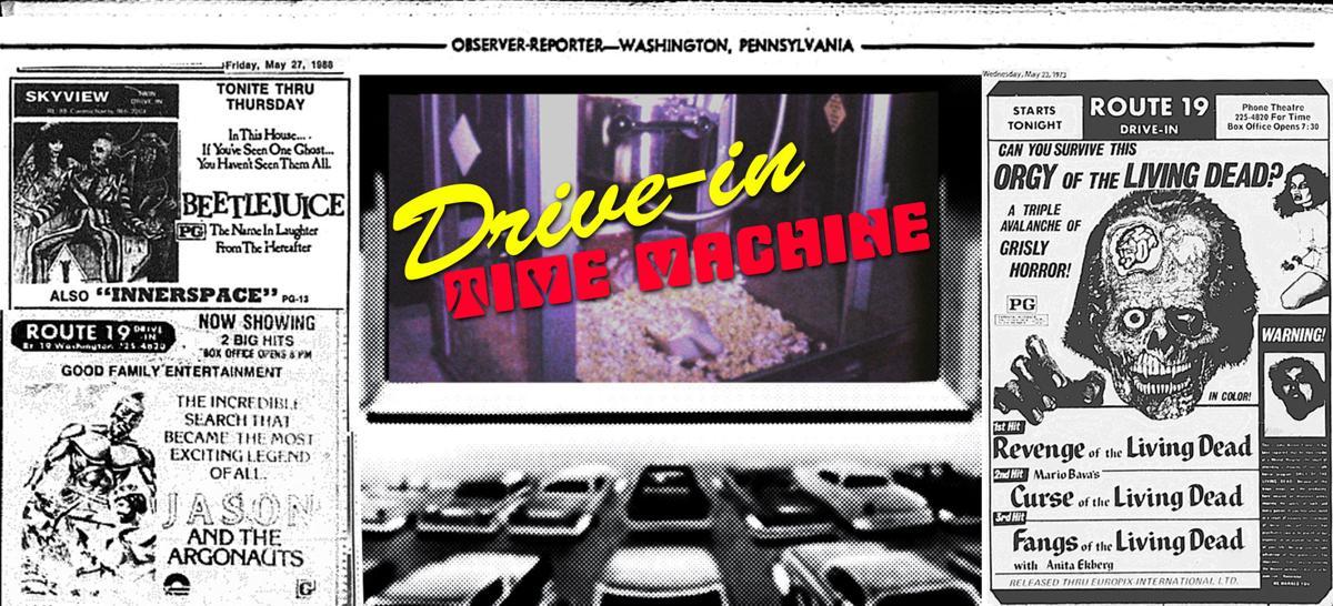 Drive-In Time Machine Week 4 Logo