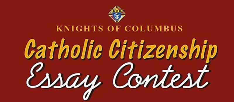 knights holding essay contest community observer reporter com