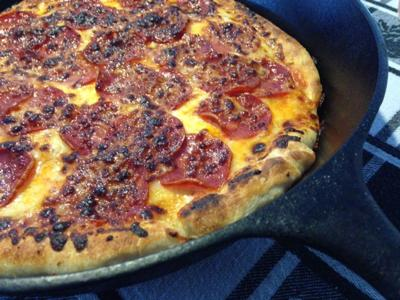 Cast-iron pizza gets rave reviews