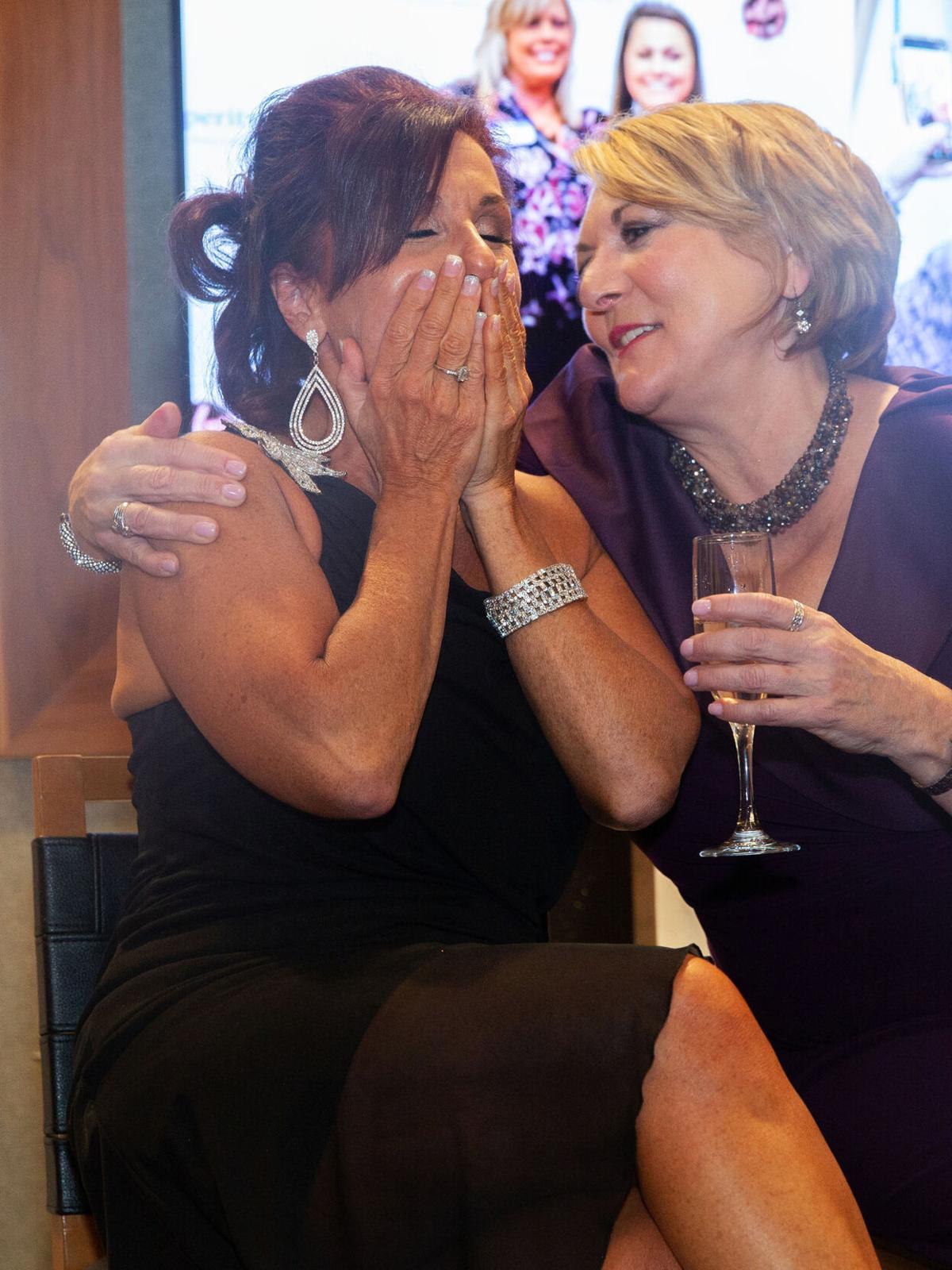 Maria Allshouse and Kim Adley