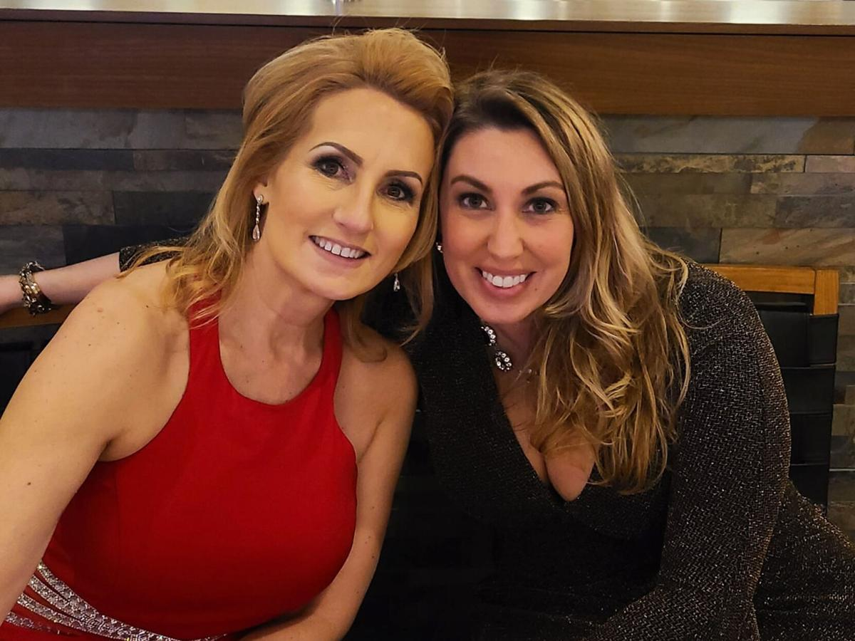 Dawn Pomaybo, left, and Kelly Frost